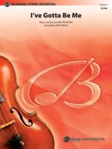 Alfred Marks W              Cerulli B Sammy Davis I've Gotta Be Me - String Orchestra