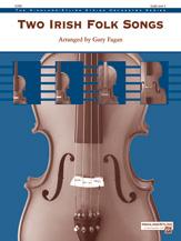 Alfred  Fagan G  Two Irish Folk Songs - String Orchestra