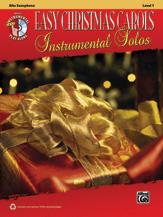 Easy Christmas Carols Instrumental Solos for Alto Saxophone