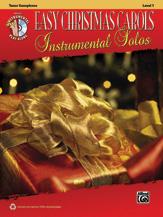 Easy Christmas Carols Instrumental Solos for Tenor Saxophone