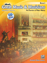 Great Music & Musicians Book 1 w/cd [piano reference]