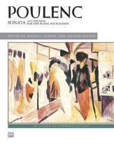 Sonata, 1919 Edition - 1 Piano 4 Hands