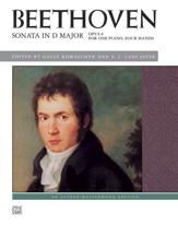 Sonata in D Major, Op. 6 - 1 Piano 4 Hands