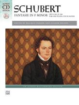 Fantasie in F Minor, Op. 103, D. 940 (Bk/CD) - 1 Piano 4 Hands