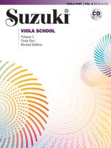 Suzuki Viola School Viola Part & CD, Volume 2 (Revised)