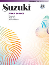Suzuki Viola Volume 2 (Rev. Book + CD)