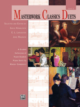 Masterwork Classics Duets, Level 2 - 1 Piano 4 Hands