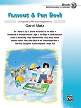 Famous & Fun Rock, Book 2 [Piano]