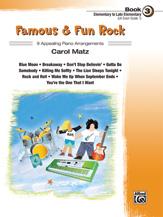 Famous & Fun Rock, Book 3 [Piano]