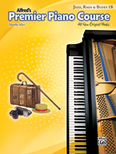 Alfred's Premier Piano Course Jazz, Rags & Blues, Book 1B