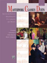 Masterwork Classics Duets: Level 5 - 1 Piano 4 Hands
