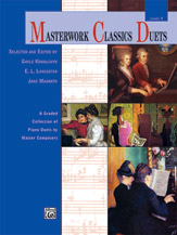 Masterwork Classics Duets Level 9 FED-VD1 [1P4H] Piano Duet