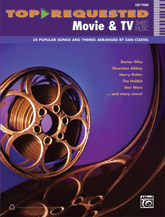 Alfred  Dan Coates  Top-Requested Movie & TV Sheet Music - Easy Piano