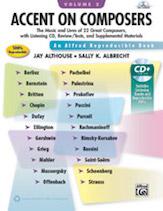 Accent on Composers Teacher's Handbook Bk 2 w/cd Piano