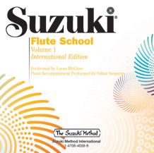 Suzuki Flute School: International Edition, Volume 01 - CD Only