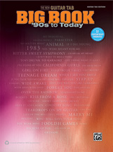 The New Guitar TAB Big Book: '90s to Today [Guitar]
