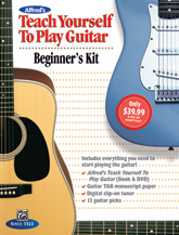 Teach Yourself to Play Guitar Beginner's Kit