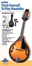 Alfred Mandolin Teach Yourself To Play Mandolin Pack 00-42870