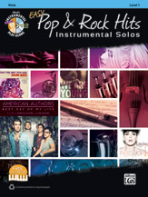 Easy Pop & Rock Hits Instrumental Solos for Strings [Viola]