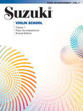 Suzuki Violin School Piano Acc., Volume 7 (Revised) [Violin]