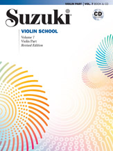 Suzuki Violin School Violin Part & CD, Volume 7 (Revised) [Violin]