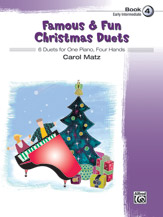 Famous and Fun Christmas Duets Bk4 - 1P4H