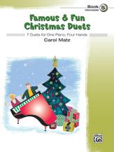 Alfred Matz C   Famous & Fun Christmas Duets Book 5