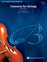 Alfred Vivaldi A            Farrar Royce J  Concerto for Strings RV158 Movement 3 - String Orchestra