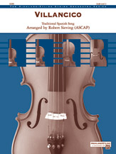 Alfred  Sieving R  Villancico - String Orchestra