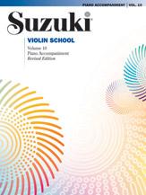 Suzuki Violin School Piano Acc., Volume 10 [Violin]