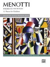 Poemetti: 12 Pieces for Children - Piano