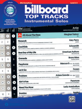 Billboard Top Tracks Instrumental Solos (Bk/CD) - Alto Sax