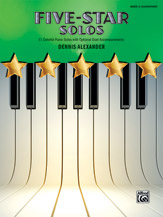 Five Star Solos Book 2 FED-P2 [elementary piano] Alexander