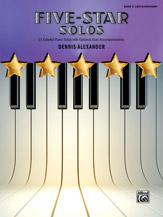 Five-Star Solos, Book 3 [Piano]