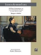 Essential Keyboard Etudes Baroque to Modern