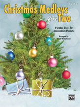 Christmas Medleys for Two Book 3 [Piano]