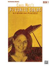 Favorite Solos, Book 1 - Piano