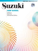 Suzuki Harp School Harp Part & CD, Volume 5 [Harp]