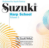 Suzuki Harp School CD Volume 5 [Harp]