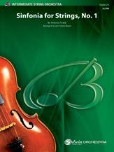 Alfred Vivaldi A            Farrar-Royce J  Sinfonia for Strings No 1 - String Orchestra