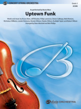 Alfred Mars/Bhasker/Ronson  Marshall / Phillips  Uptown Funk - String Orchestra