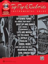 Top Pop & Rock Hits Instrumental Solos w/cd [Alto Sax]
