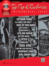 Top Pop & Rock Hits Instrumental Solos Tenor Sax
