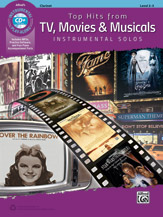 Top Hits from TV, Movies & Musicals Instrumental Solos [Clarinet]