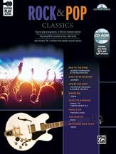 Rock & Pop Classics Guitar Play-Along w/cd-rom [Guitar]