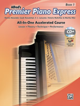 Alfred's Premier Piano Express All-In-One Book 1