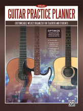 Alfred's Guitar Practice Planner [Guitar]