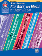 AOA Pop Rock and Movie Instrumental Solos [Alto Saxophone]