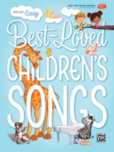 Alfred's Easy Best-Loved Children's Songs - PVG Songbook