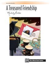 A Treasured Friendship [intermediate piano duet] Bober